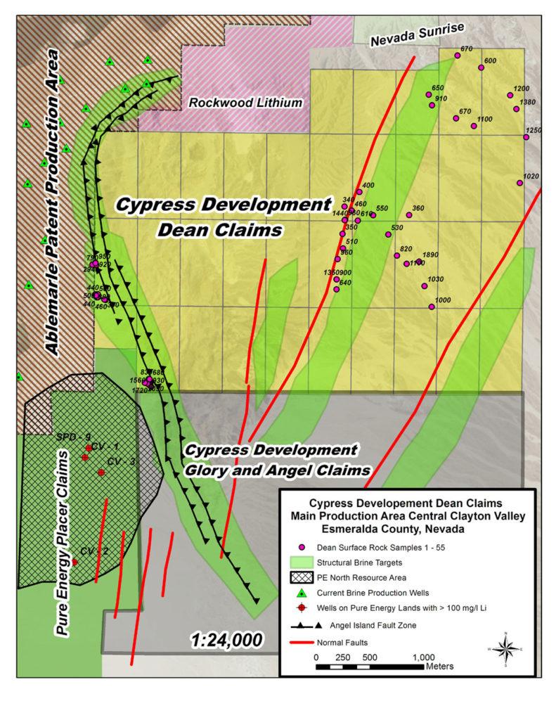 Dean Sampling Map