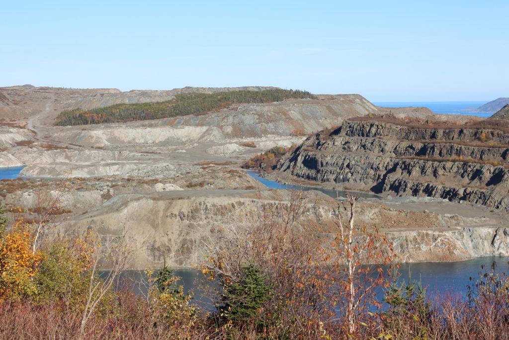 Baie Verte Asbestos Open Pit Mine