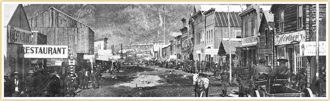 Dawson City klondike gold rush